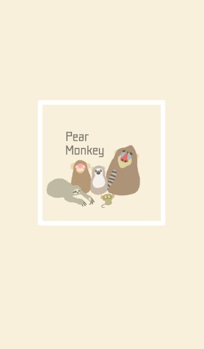 Pear monkey