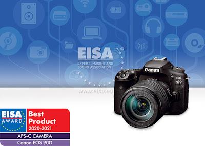 EISA APS-C Camera 2020-2021: Canon EOS 90D
