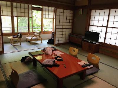 宝川温泉 本館和室
