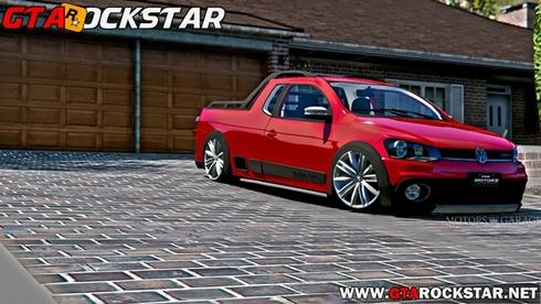 Volkswagen Saveiro G6 Cross Rebaixada para GTA V