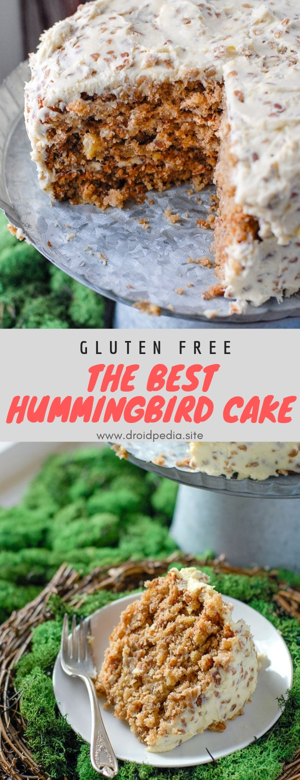The Best Hummingbird Cake #glutenfree #dessert #cake