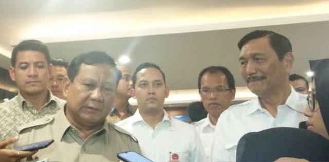 Menhan Prabowo: Harapan Dan Doa Tak Bisa Menjaga Pertahanan Negara