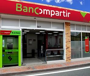 Oficinas Bancompartir en Antioquia