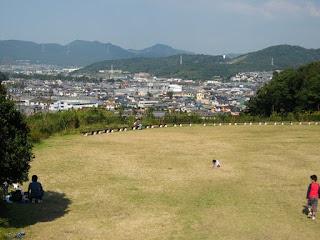 豊川 東三河ふるさと公園の北側景色