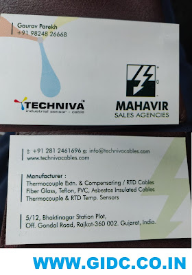MAHAVIR SALES AGENCIES - 9824826668 THERMOCOUPLE CABLE SENSOR