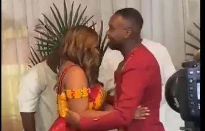 Photos from Joe Mettle and Dzisa's traditional wedding
