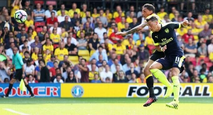Prem: Arsenal Win; Spurs-Liverpool Draw