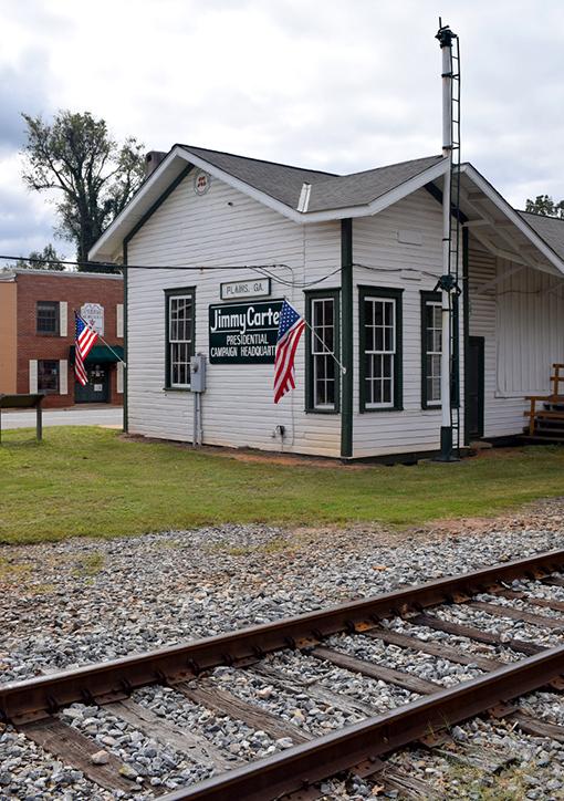 Campaign Headquarters   Plains, Georgia   Photo: Travis Swann Taylor