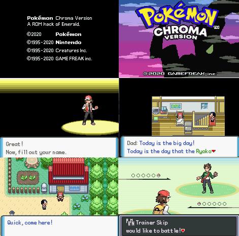 Pokemon Chroma Version GBA ROM Hack Download
