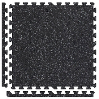 Greatmats SoftRubber Floor Gym Tile 3/8 Inch