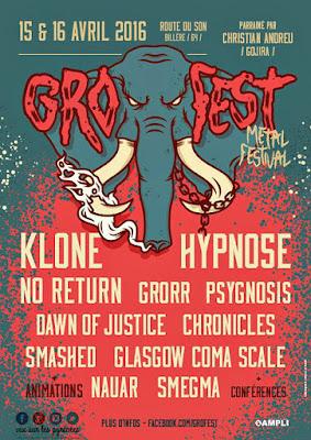 GROFEST METAL FESTIVAL 2016