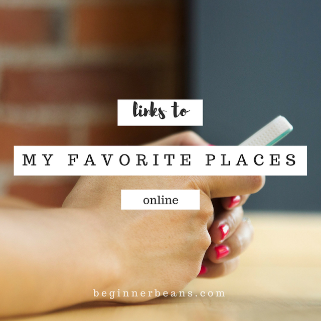 Links to some of the places, people, videos, and more that keep me coming back online.