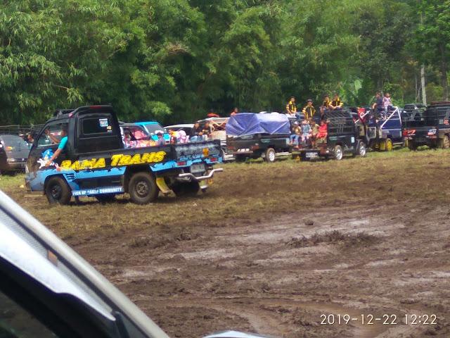 Rayakan Ultan Ke-3, 200 Mobil Pick Up Modifikasi Kumpul Di Pemalang