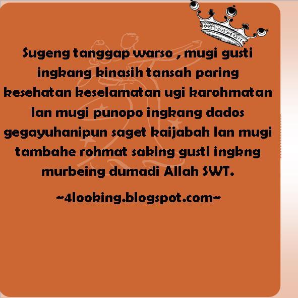 Bahasa Jawa Selamat Hari Ibu Kata Kata Ucapan Ulang Tahun Bahasa Jawa