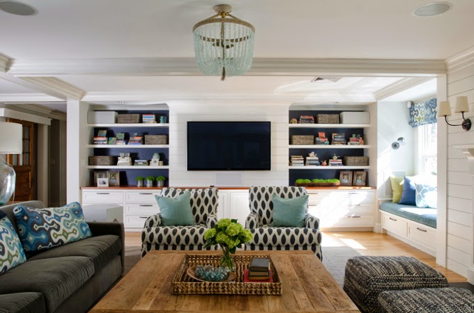 15 creative ways to design or decorate around the tv schneiderman 39 s the blog design and. Black Bedroom Furniture Sets. Home Design Ideas