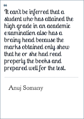 Exam Quotes By Anuj Somany