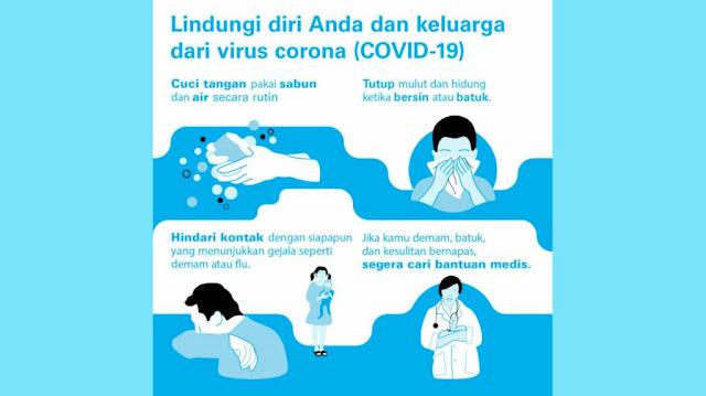 UNICEF: Cara Efektif Menjaga Kesehatan dari Bahaya Virus Corona