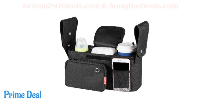 50%OFF Baby Stroller Organizer with Two Insulated Cup Holders-Bag