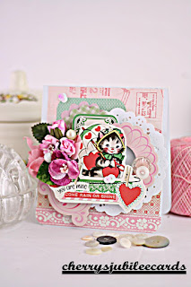 Kitten Valentine by Cherry's Jubilee Cards