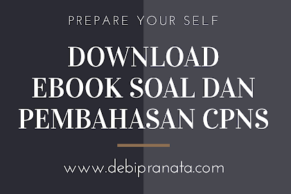GRATIS! DOWNLOAD EBOOK PERSIAPAN CPNS