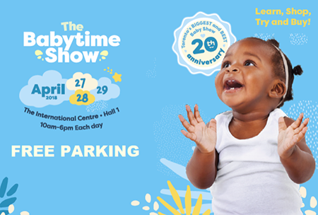 The Babytime Show at The International Centre April 27, 28, 29, 2018 ~ #Giveaway