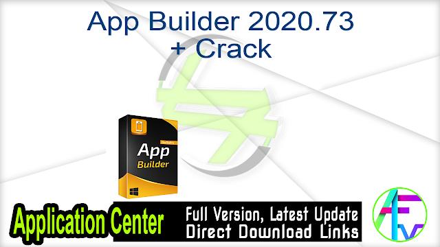 App Builder 2020.73 + Crack