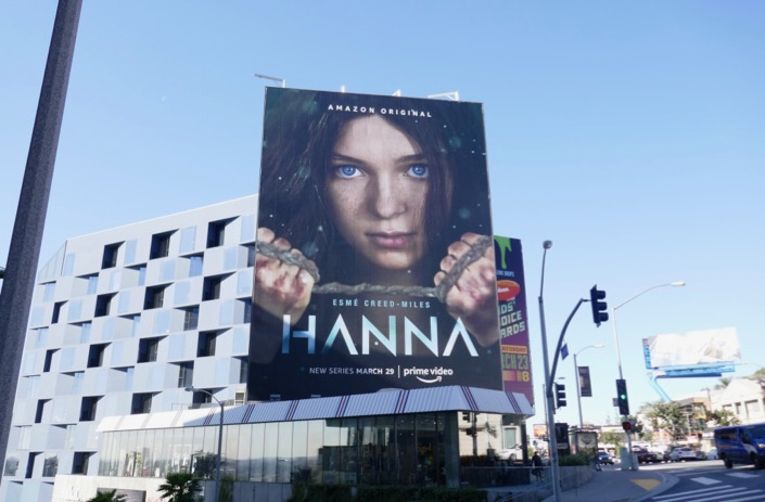 Hanna series premiere billboard