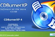 تحميل برنامج نسخ وحرق الملفات على الاسطوانات CDBurnerXP اخر اصدار