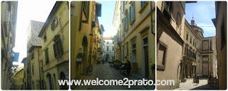 Alcuni scorci di Via Pugliesi a Prato