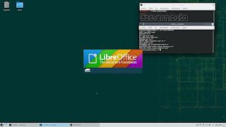 Pantalla KDE openSuSE 15.2