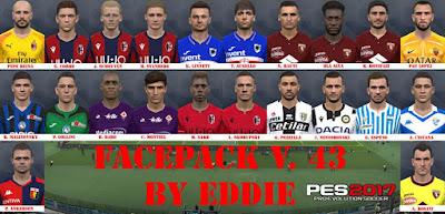 PES 2017 Facepack v43 by Eddie Facemaker