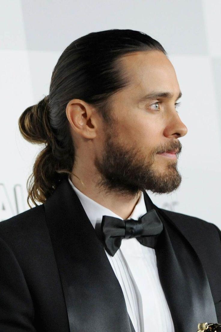 Fácil peinados con barba Imagen de ideas de color de pelo - La moda en tu cabello: Pelo largo recogido y barba para ...