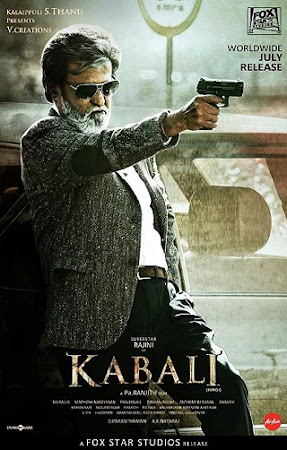 Poster Of Hindi Movie Kabali 2016 Full HD Movie Free Download 720P Watch Online