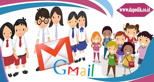 Cara Buat Email Dan Daftar Akun Gmail Untuk Siswa Jenjang Paud Sd Smp Sma Smk Dan Sederajat Agar Akses Hp Dan Laptop Dapodik Co Id