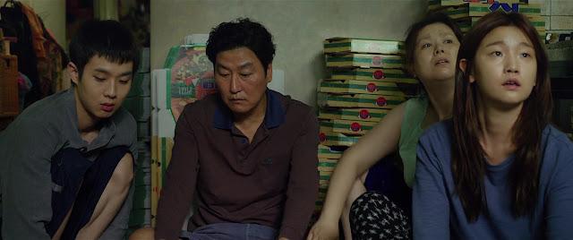 Song Kang-ho as Kim Ki-taek Jang Hye-jin as Kim Chung-sook Choi Woo-shik as Kim Ki-woo Park So-dam as Kim Ki-jung