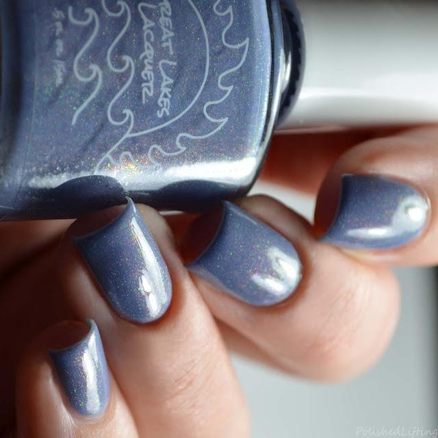 gray nail polish