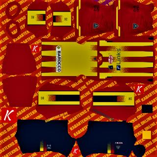 U.S Lecce Calcio Kits 20-21 DLS Kits 2021