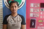 Satresnarkoba Polres Sumenep  Tangkap Seorang Wanita Saat Transaksi Narkoba