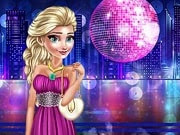 Dress up the most fashionable dresses to dress up Elsa Frozen in cool outfits. Tonight will be a special night and our Elsa should look perfect. You need to choose the most bright and beautiful dress that will sit perfectly on the girl and complete the look with special accessories. Then you can go to the club, have a drink and dance with Jack Frost.