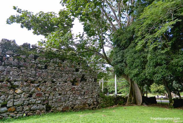 Ruínas de Panamá Viejo, primeira povoação espanhola no Panamá