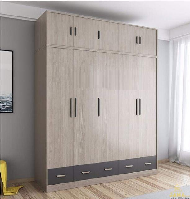 Tủ quần áo gỗ MDF có độ bền cao