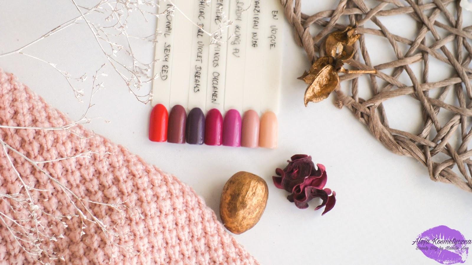 Idealne lakiery hybrydowe na jesień, matowy efekt i