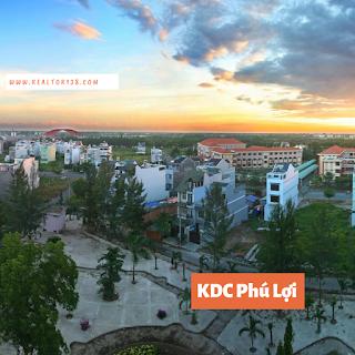 đất nền biệt thự khu dân cư Phú Lợi phường 7 Quận 8