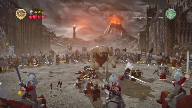 LEGO The Lord of the Rings PC Games Gameplay