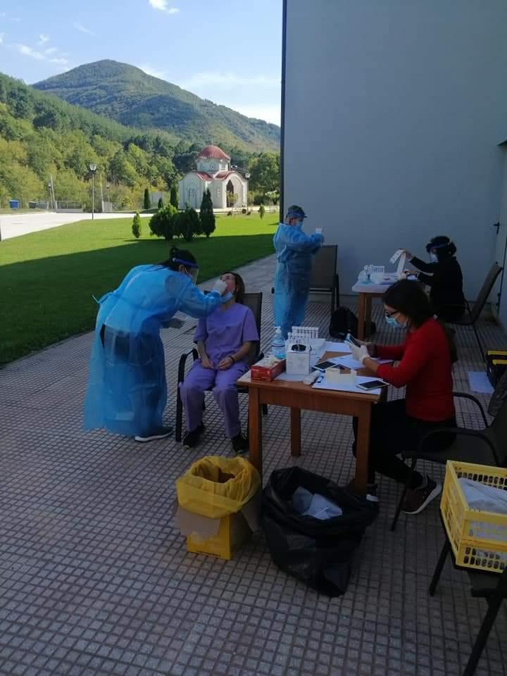 Ξάνθη: Δειγματοληπτικοί έλεγχοι για κορονοϊό στο Γηροκομείο της Μητρόπολης
