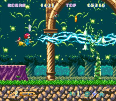 【SFC】棉花小魔女100%原版+法力無限版,可愛的飛行射擊遊戲!