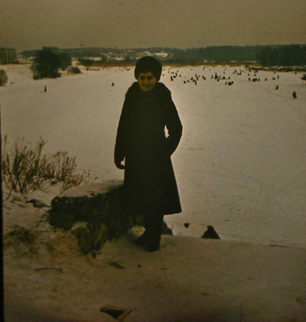 1980-е годы. Рига. Зимой на Югле