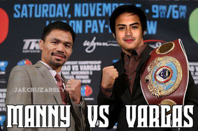 Pacquiao VS Vargas fight