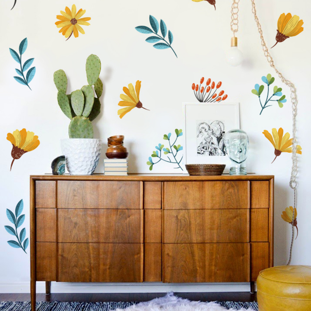 Wall Mural or Self-Adhesive Wall Sticker - What to Choose?